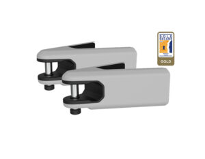 Light Grey Airlok Duo lockable bike hanger