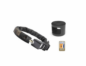 ANKR PLUS ANKR Security Anchor and GOLD chain lock bundle studio image
