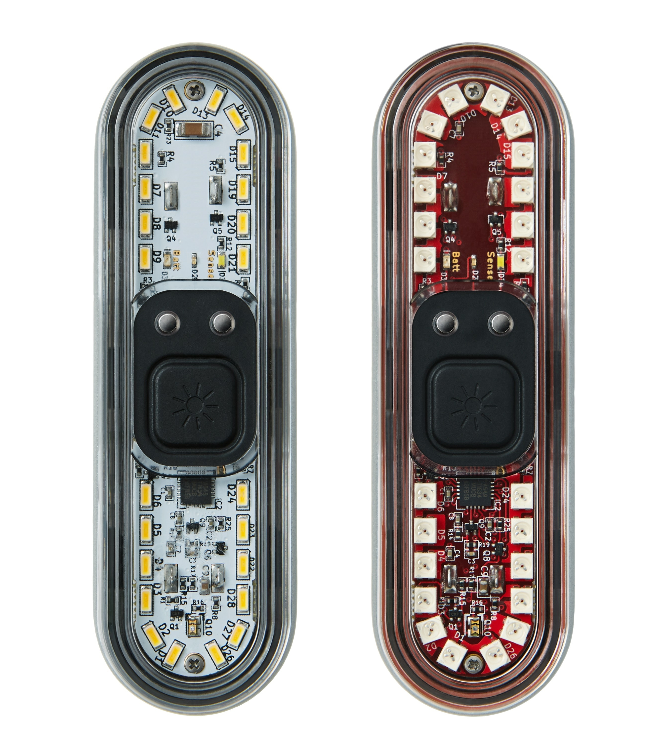 Beryl bike lights front and rear