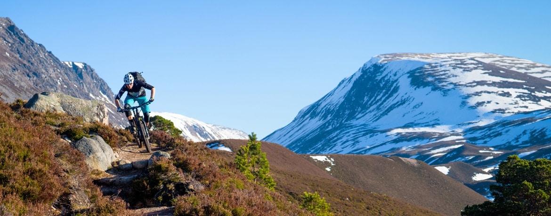 Mountain bike tour Scotland