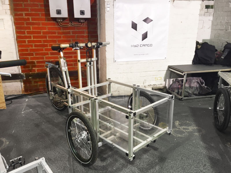 Cargo bikes in Fahrradschau