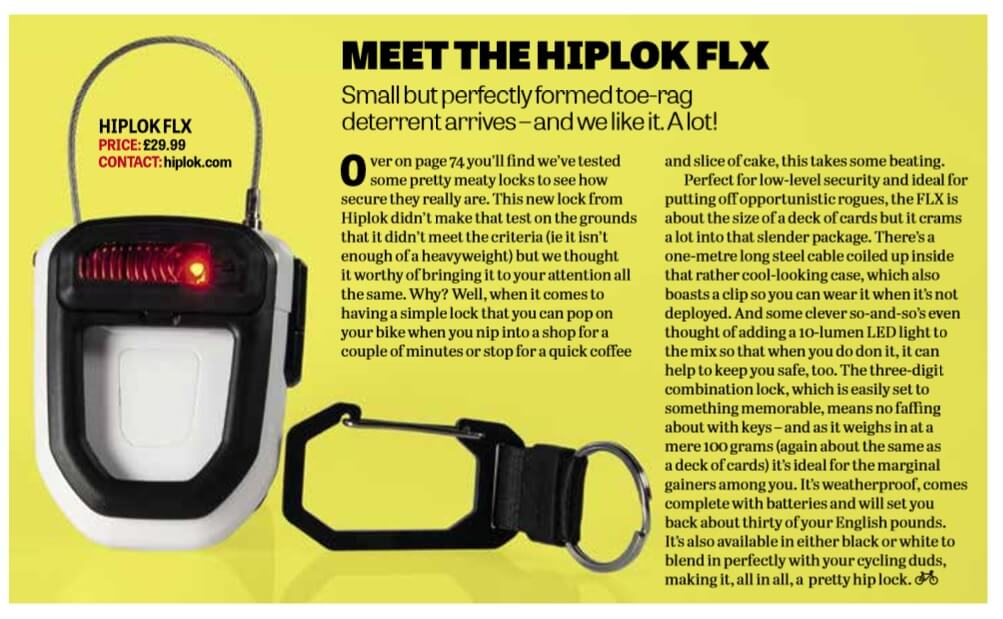 FLX Bikes Etc July 2016