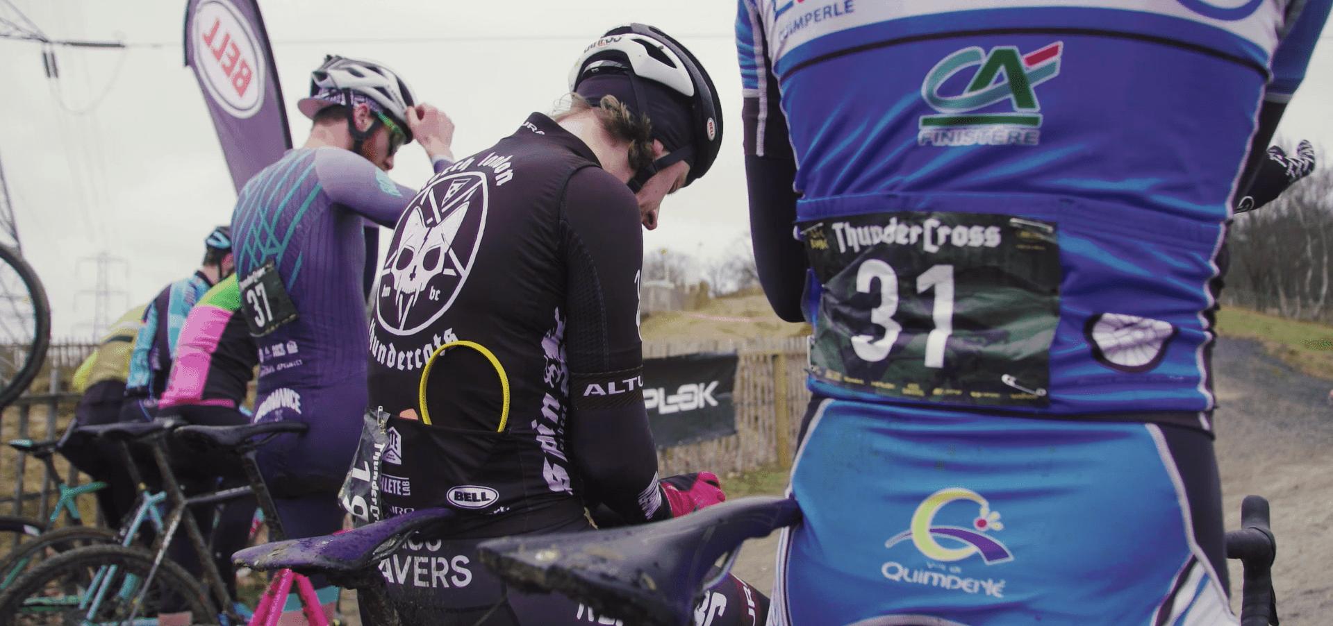 Cyclocross Thundercross on the Start line